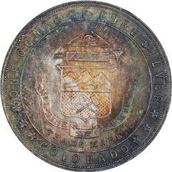 Colorado. So-Called Dollar. 1933 Century of Progress. HK-870. Silver. MS-66 NGC.