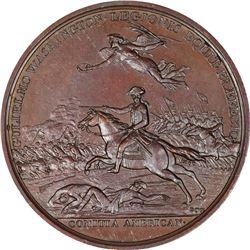 1781 Lt. Colonel William Washington Comitia Americana Medal. Battle of Cowpens. Copper. 46mm. Julian
