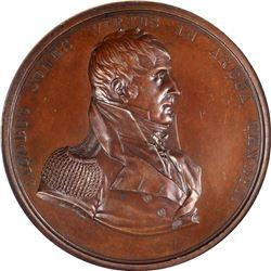 Undated Captain Jacob Jones Medal. U.S.S. Wasp v. H.M.S. Frolic Medal. Julian-NA-13. Bronze. MS-63 B