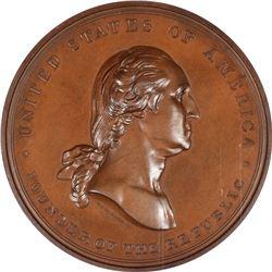 1887 Washington – International Medical Congress Medal. Baker-F-378. MS-66 BN NGC.