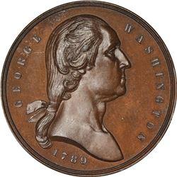 Undated (circa 1889) Seal of New York City. GW-1126. Bronze. First Obverse. MS-65 PCGS.
