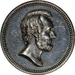 1909 Lincoln Birth Centennial. Silver. King-392. MS-62 NGC.