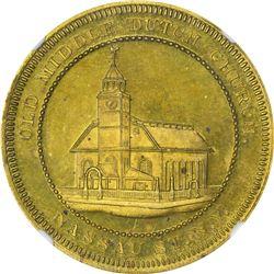 New York. New York City. Undated (1860-1862). J.M. Bradstreet & Sons. Rulau-NY-82M. Brass. Plain Edg