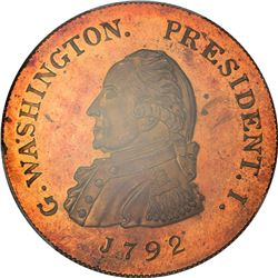 Pennsylvania. Philadelphia. Undated (1860). William Idler, Dealer In Coins. Baker-544A, Miller Pa-21