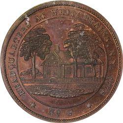 Undated (circa 1860) George H. Lovett's Washington's Headquarters Series. No. 2. White Plains, New Y