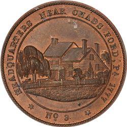 Undated (circa 1860) George H. Lovett's Washington's Headquarters Series. No. 3. Chad's Ford, Pennsy