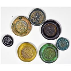 Egyptian Glass Weights