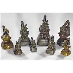 Collection of Burma Opium Weights