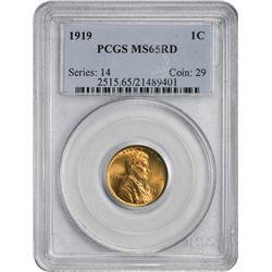 1919 1C MS65RB PCGS