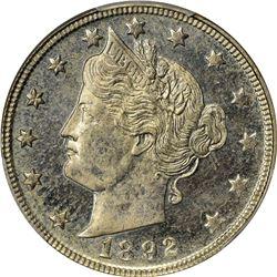 1892 5C PR63 PCGS