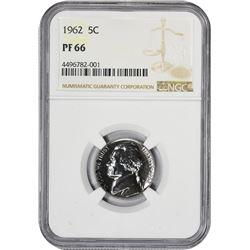 1962 5C PF66 NGC