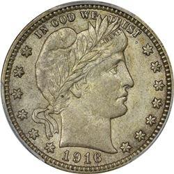 1916-D 25C AU58 PCGS