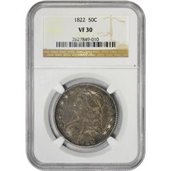 1822 50C VF30 NGC