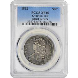 1832 50C XF45 PCGS