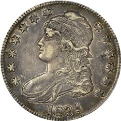 1834 50C XF45 PCGS