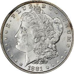 1881 S$1 MS64 NGC