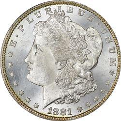 1881 S$1 MS63 NGC