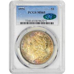 1896 S$1 MS65 PCGS