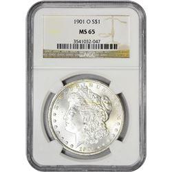 1901-O S$1 MS65 NGC
