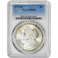 1904-O S$1 MS65 PCGS