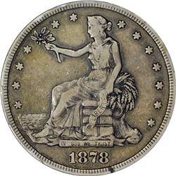 1878-S T$1 F15 PCGS