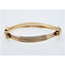 14K Gold Fill Three-Strand Bracelet