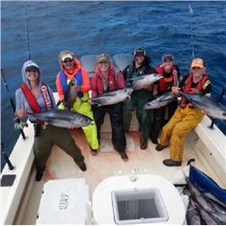 $1,000.00 Certificate for Tuna Fishing Trip