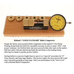 Holland's Gold Standard Bullet Comparator