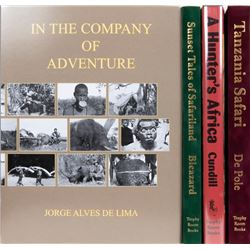 Four East Africa Hunting Books by Professional Hunters