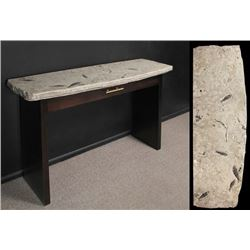 Fossil Console Table