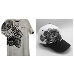 Lion Fish T-Shirt, Baseball Cap