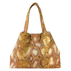 Python Skin Tote Bag