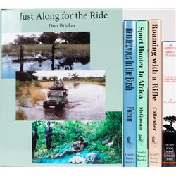 Five Limited Edition Books by Sport Hunters