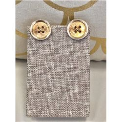 14K Yellow Gold Men's Cufflinks