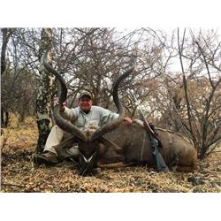 7-day South Africa Kudu and Small Predator Safari for One Hunter and One Observer