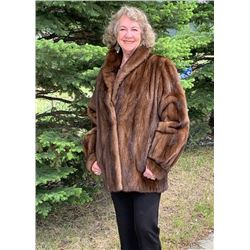 Demi-Buff Mink Female Jacket