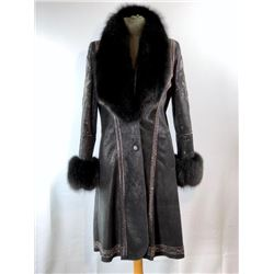 Leather and Fox Coat