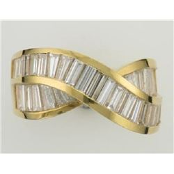 Ladies 18k Yellow Gold Ring