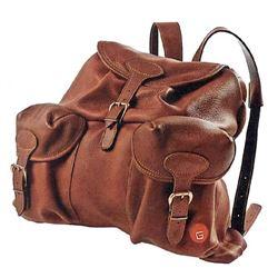 Large Moose Leather Backpack