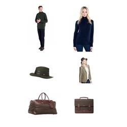 2 Sweaters, 2 Dubarry Hats, 2 Leather Bags