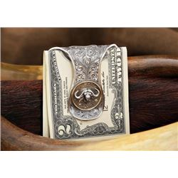 Clint Orms Sterling Silver Money Clip