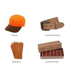 Hat, Belt, Deerskin Gloves, & Shell Holder Patch
