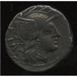 Ancient - Roman Republic - Moneyer: L. Rutilius Flaccus. 77 BC. AR Denarius