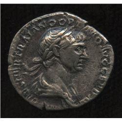 Ancient - Roman Imperial - Trajan. 98-117 AD. AR Denarius