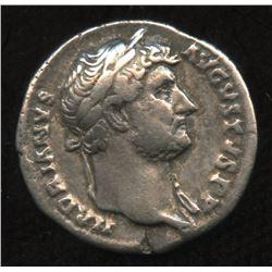 Ancient - Roman Imperial - Hadrian. 117-138 AD. AR Denarius