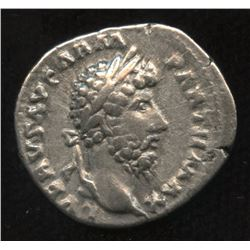 Ancient - Roman Imperial - Lucius Verus. 161-169 AD. AR Denarius