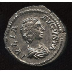 Ancient - Roman Imperial - Julia Domna, 193-211 AD. AR Denarius, struck under Septimius Severus