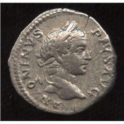 Ancient - Roman Imperial - Caracalla. 198-217. AR Denarius