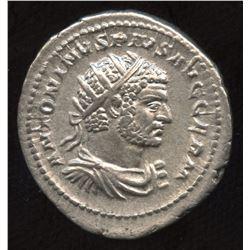 Ancient - Roman Imperial - Caracalla. 198-217. AR Antoninianus