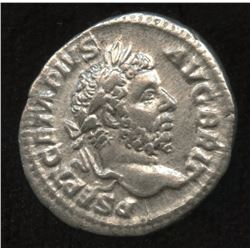 Ancient - Roman Imperial - Geta, as Augustus. 209-211. AR Denarius